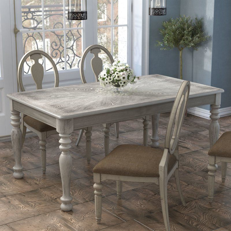 Bloomingdale Transitional Dining Table Transitional Dining