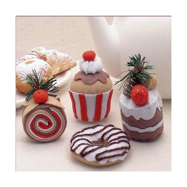 Pastelitos de fieltro paso a paso imagui manualidades pasteles pinterest - Manualidades de fieltro paso a paso ...