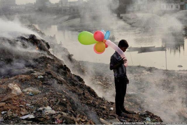 Criança no Lixão- India