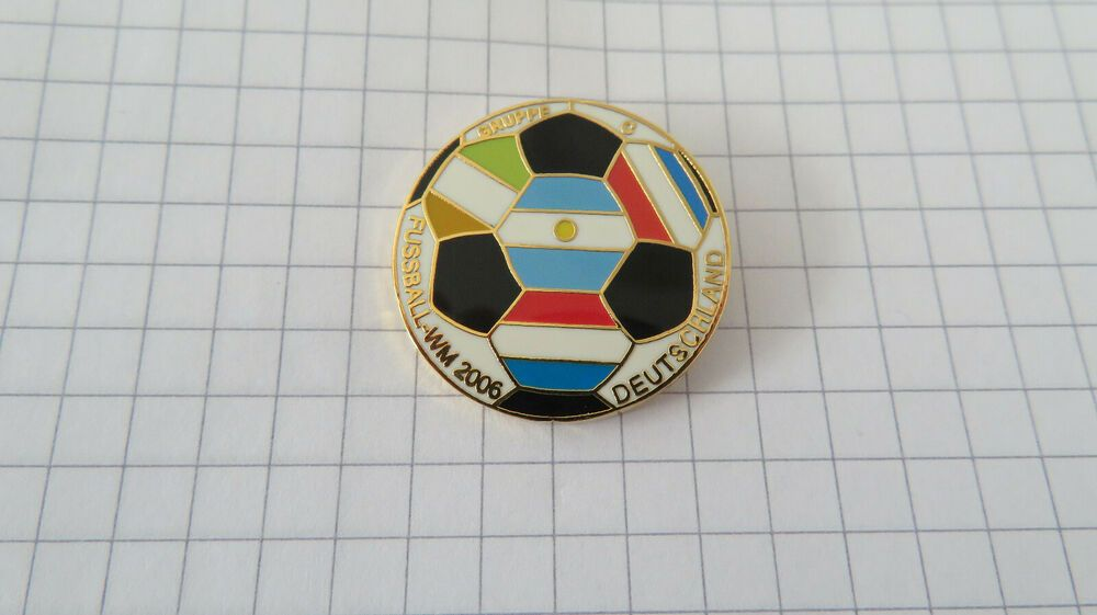 Details About Pin Fussball Wm 2006 Gruppe C Fifa World Cup