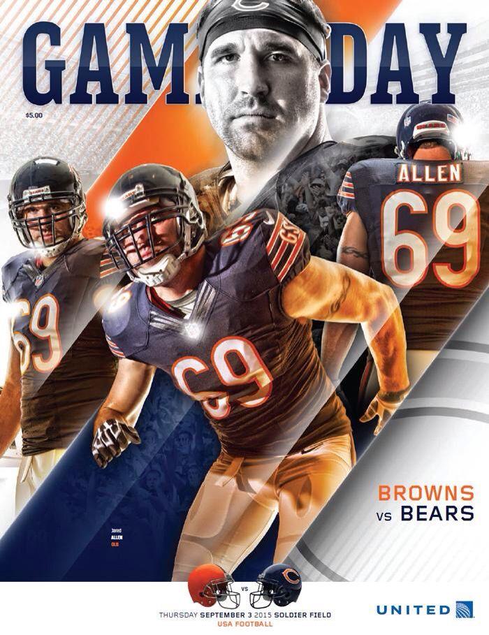 Game Day Browns Vs Bears Chicago Bears Football Chicago Bears Nfl Fans
