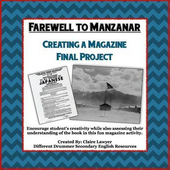 Farewell to manzanar final project creating a magazine brochures this is a final project for farewell to manzanar students are asked to create a magazine newspaper or brochure based on the book in four different fandeluxe Image collections