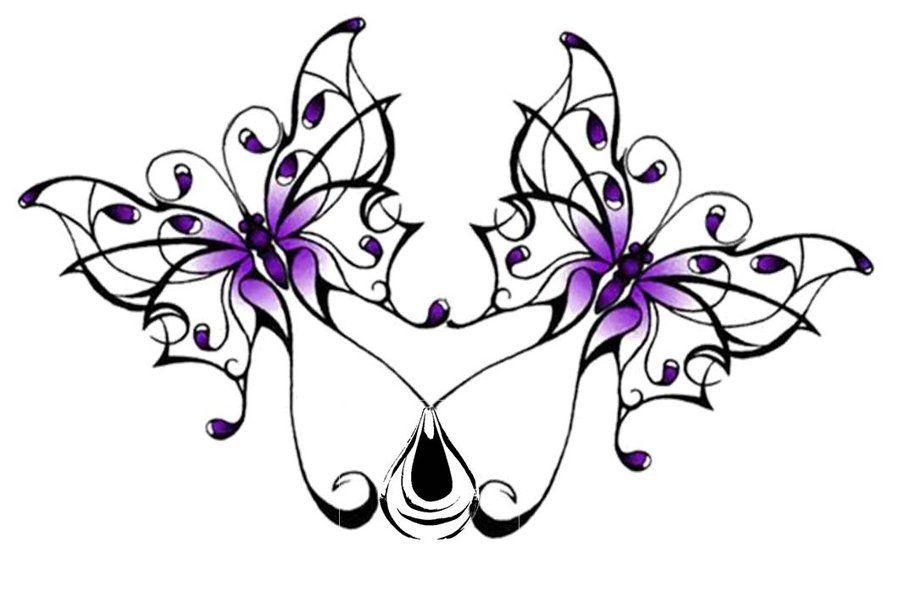 butterfly design tattoos