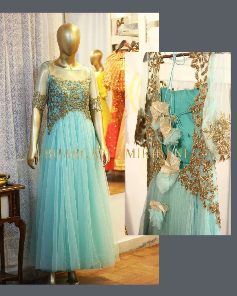 Party dresses from bhargavi amirineni designs bhargavi amirineni