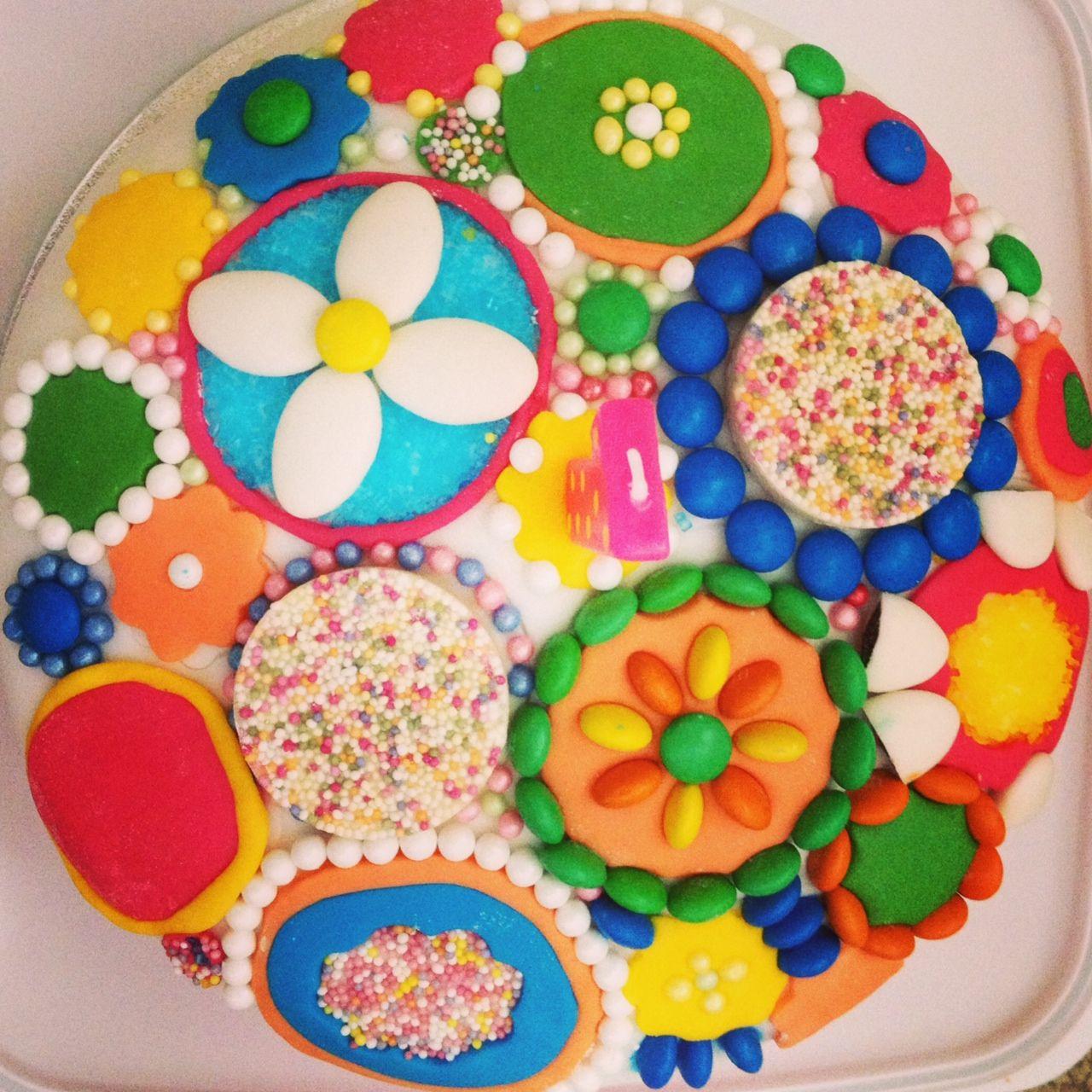 concentrical cake design
