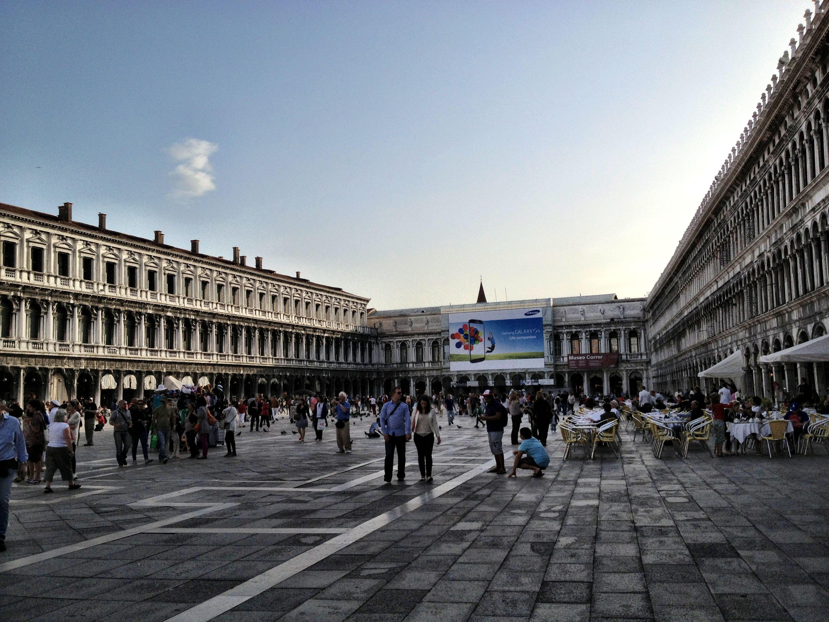 St. Mark's Square. Venice. May 2013