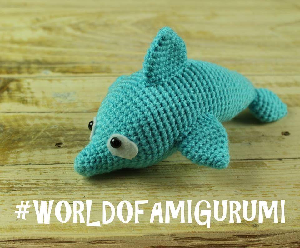 Amigurumi Totoro Receita : Golfinho amigurumi amigurumi and crochet