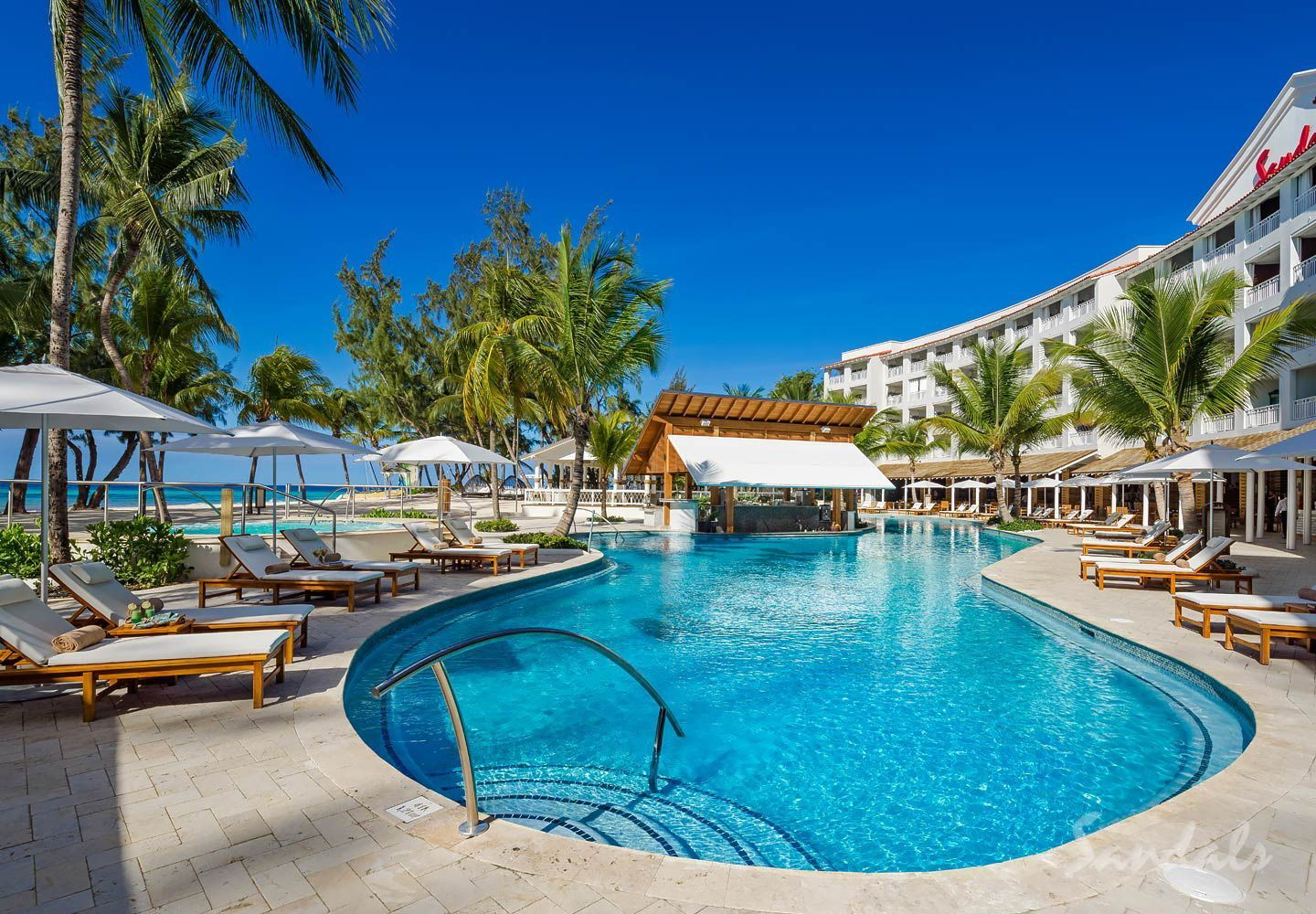 Luxury All Inclusive Honeymoon resort destination Sandals