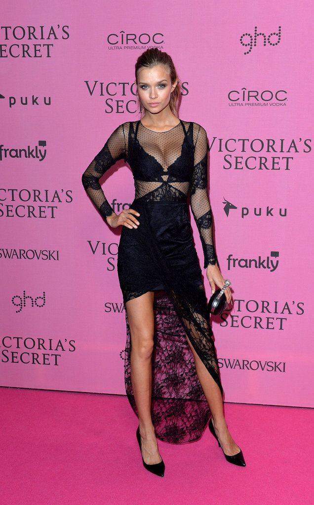 The Pink Carpet Was Just as Hot as the VS Runway | Pasarela y Rosa