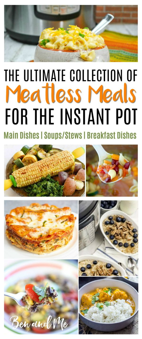 The Ultimate Collection of Meatless Meals for Instant Pot images
