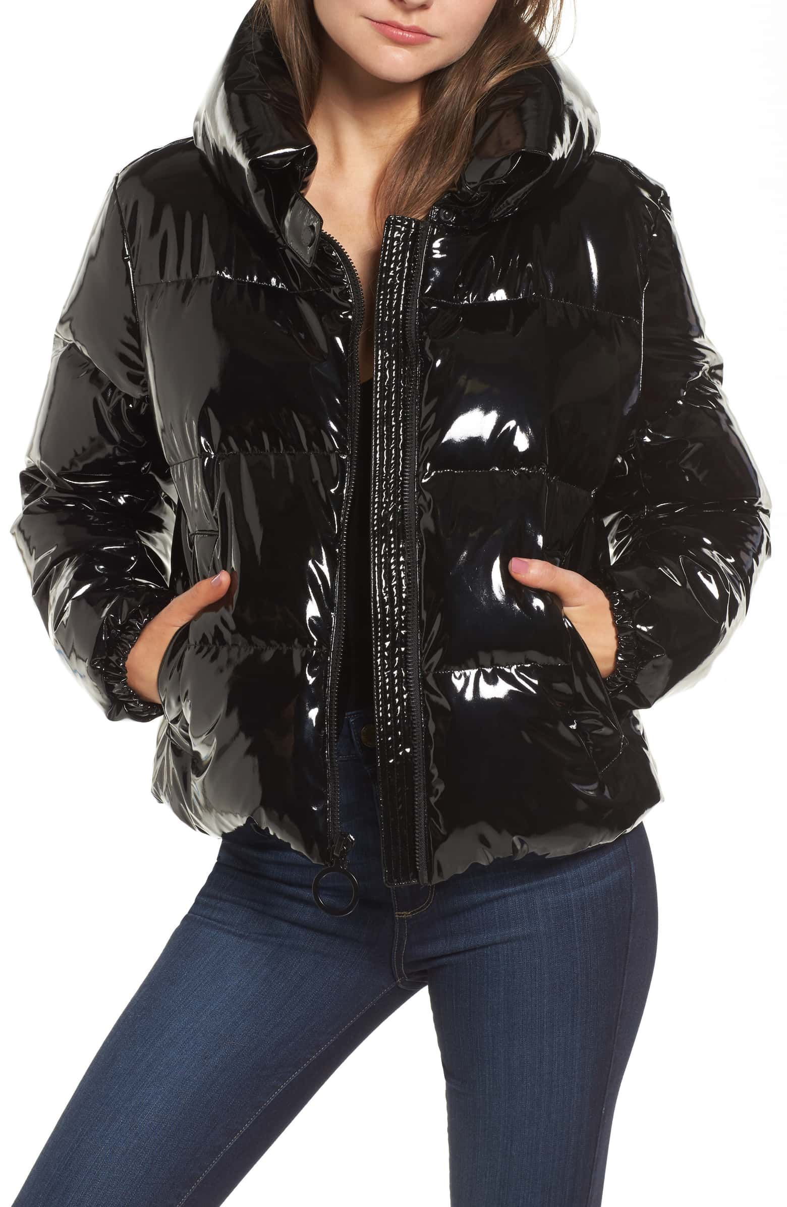 Kendall Kylie Shiny Puffer Jacket Nordstrom Shiny Jacket Jackets Puffer Jackets [ 2392 x 1560 Pixel ]