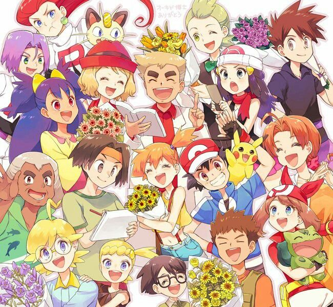Happy anniversary Pokemon trainer Pokemon, Pokemon