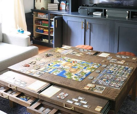 How to Create The Ideal Tabletop Gaming Room images