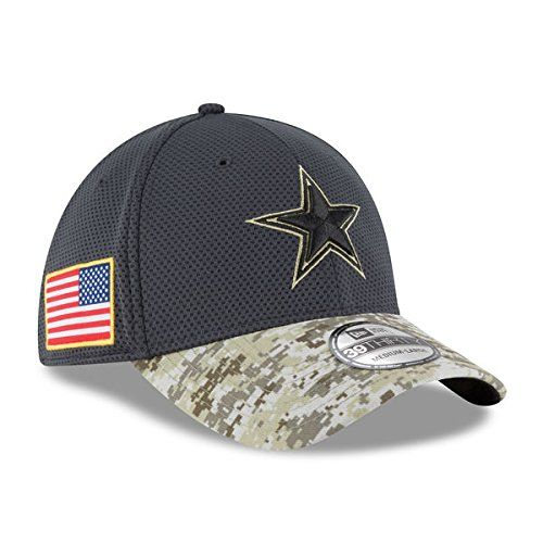 3ed02a195716b Dallas Cowboys Salute To Service Fitted Hat