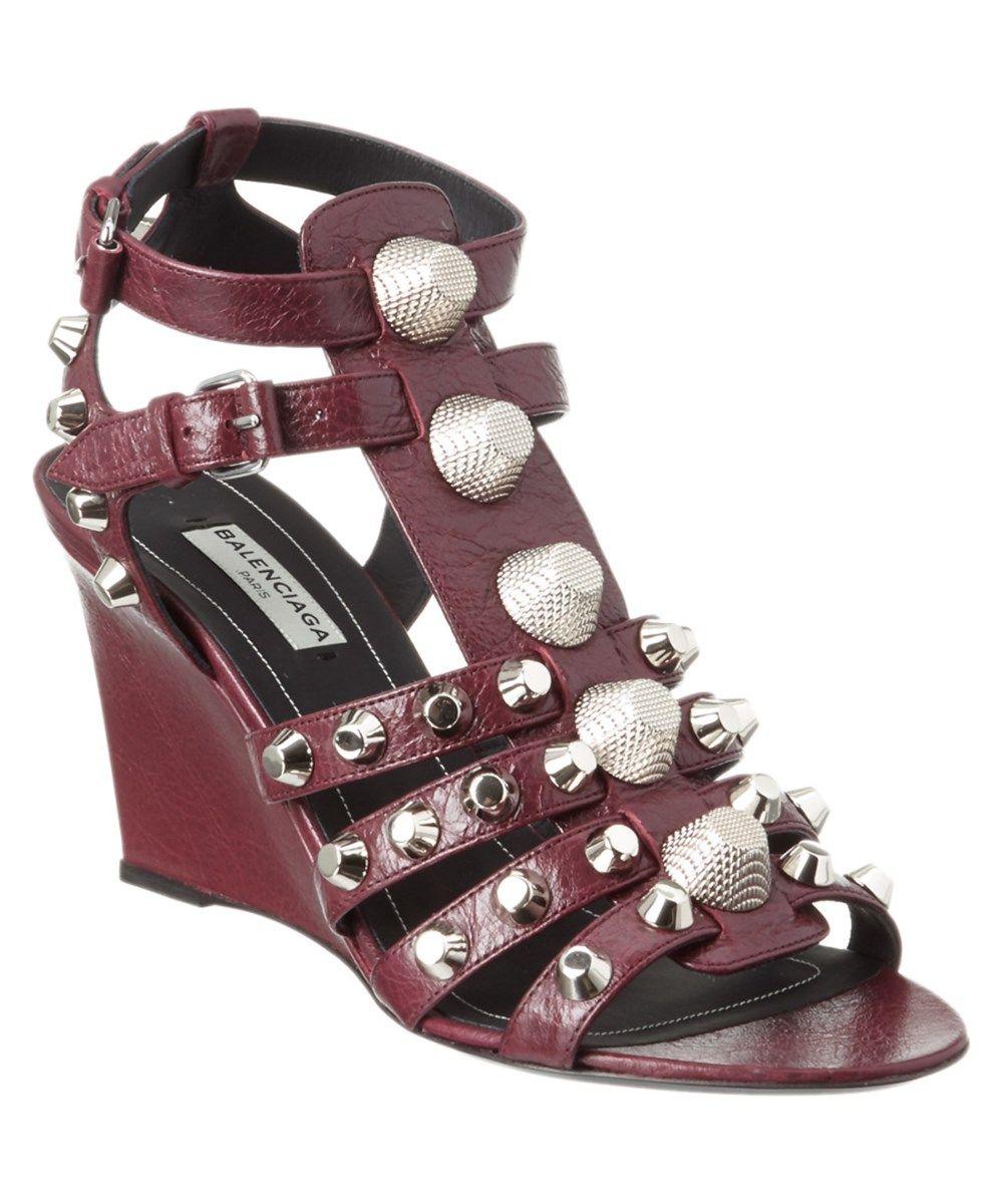 3ca86b678e08 BALENCIAGA Balenciaga Giant Silver Caged Wedge Sandal .  balenciaga  shoes   sandals