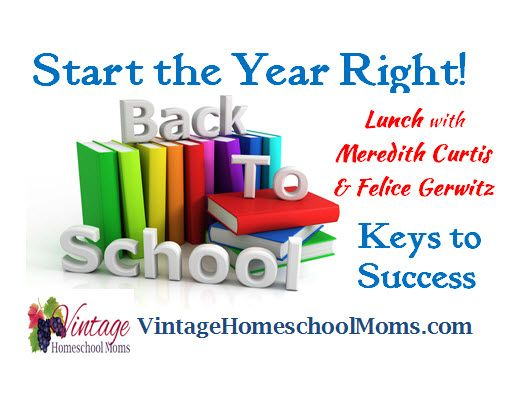 Let's Talk About Starting the Year Right! – Keys to Success. #homeschool #hsradio FREE!