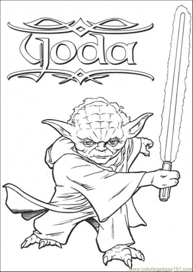 Pin By Mary Buckton On Star Wars Yoda Is The Coolest One Star Wars Coloring Book Star Wars Coloring Sheet Coloring Books
