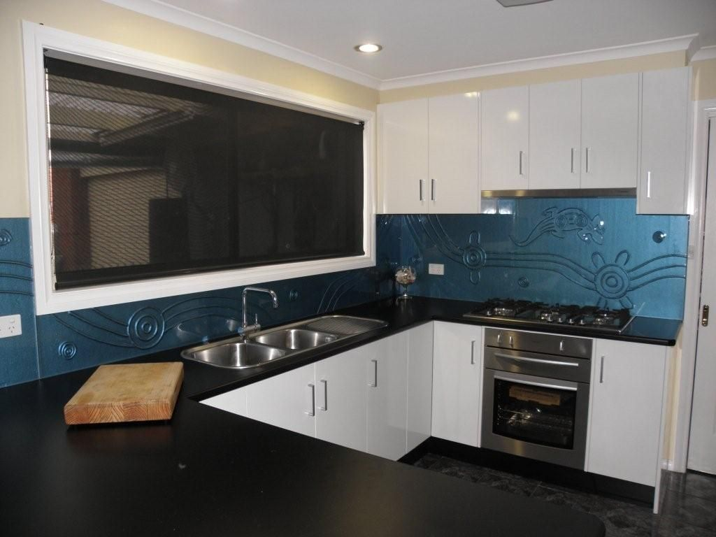 kitchen designs geelong geelong kitchen splashbacks wathaurong blue lizard 492