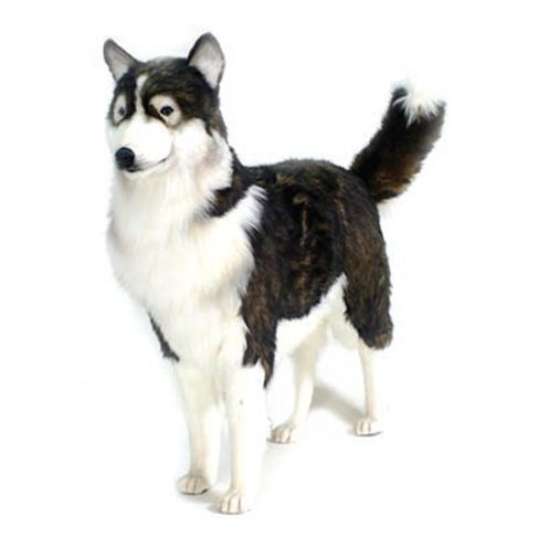 Hansa Husky Dog Life Size 46 L Giant Stuffed Animals Animals