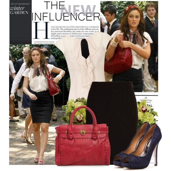 Gossip Girl inspired work outfit