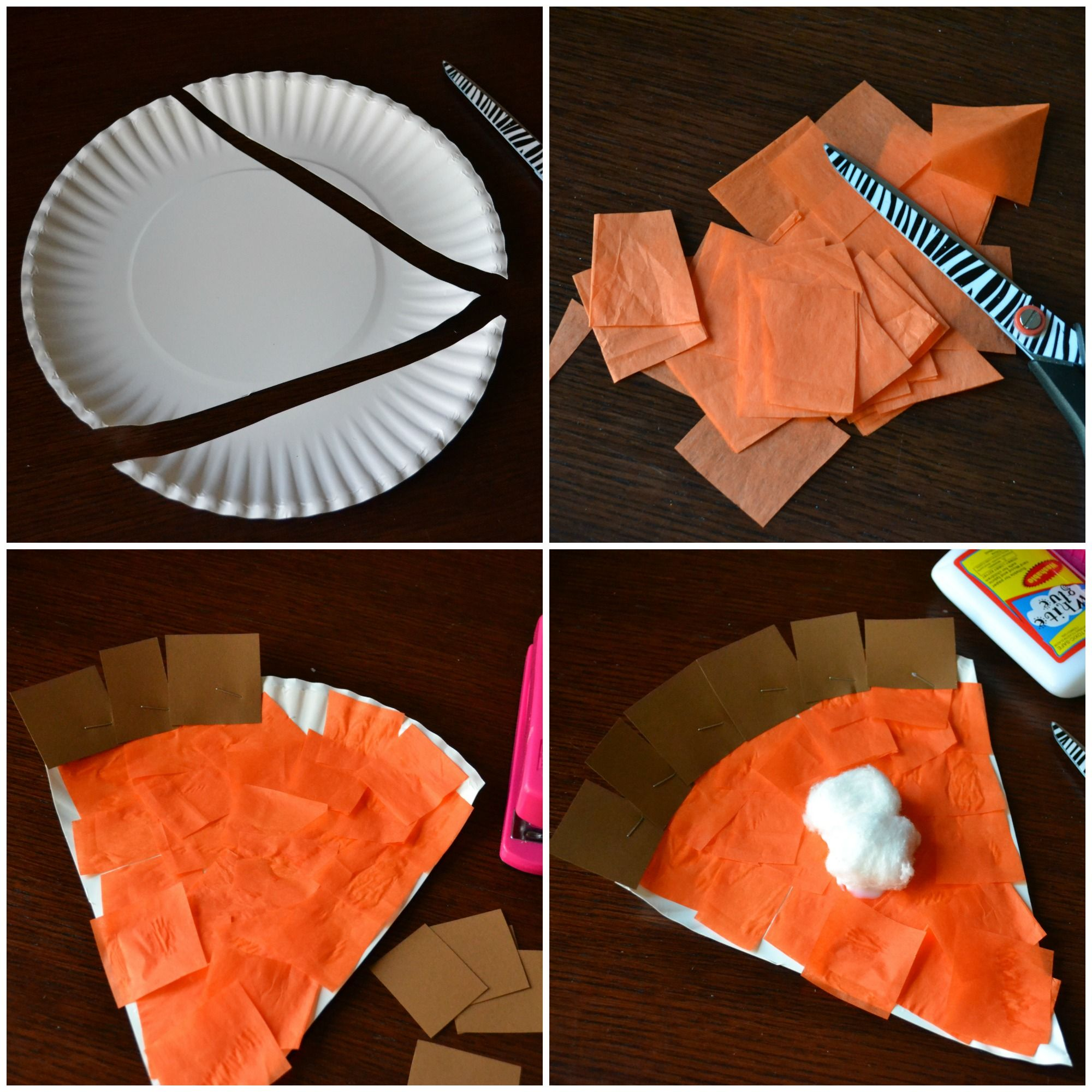 Pumpkin Pie Kids Craft | A Night Owl Blog #thanksgivingcrafts