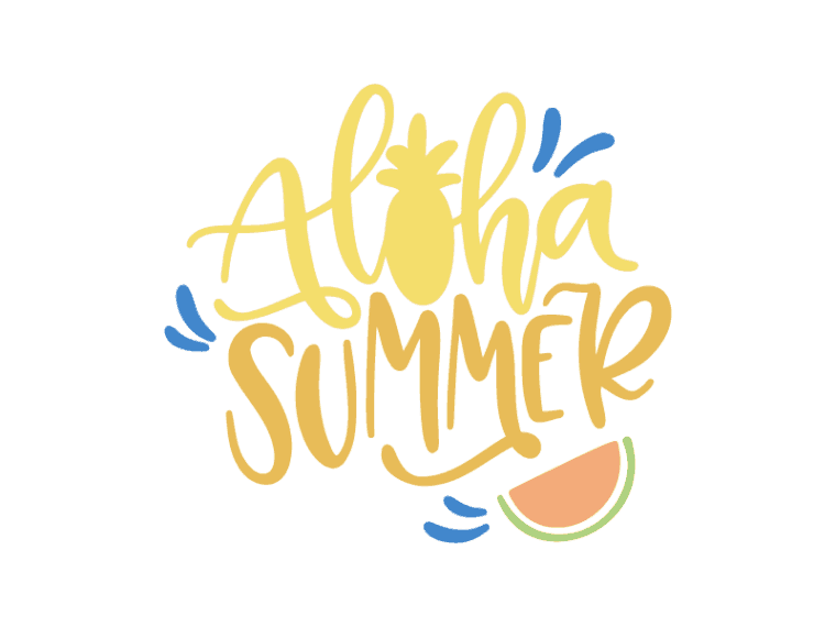 Free Aloha Summer Svg Dxf Png Jpeg In 2020 Aloha Summer Svg Free Svg