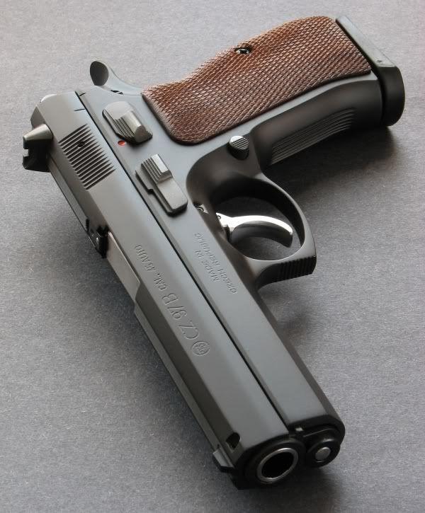 The CZ97 B  Epic Beast! | Ninjarmory | Hand guns, Guns, Weapons guns