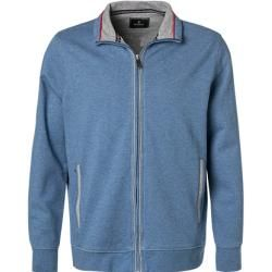 Photo of Ragman sweatshirt jacket men, cotton, blue Ragman