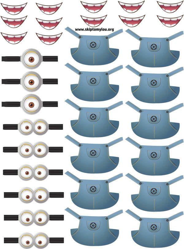 Free Printable Minion Stickers For Twinkies | anniversaire | Pinterest | Free printable, Free ...