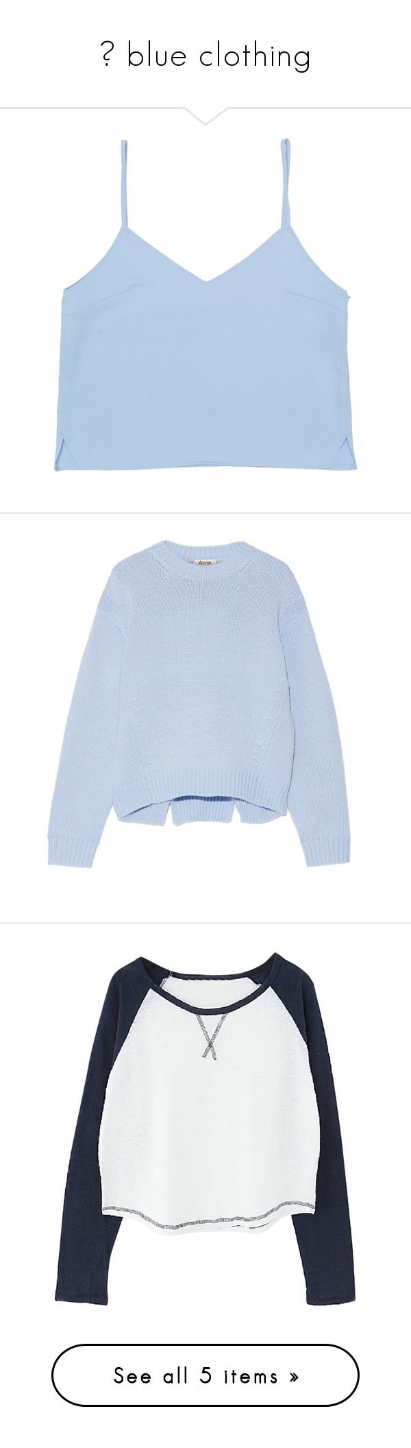 ❁ blue clothing