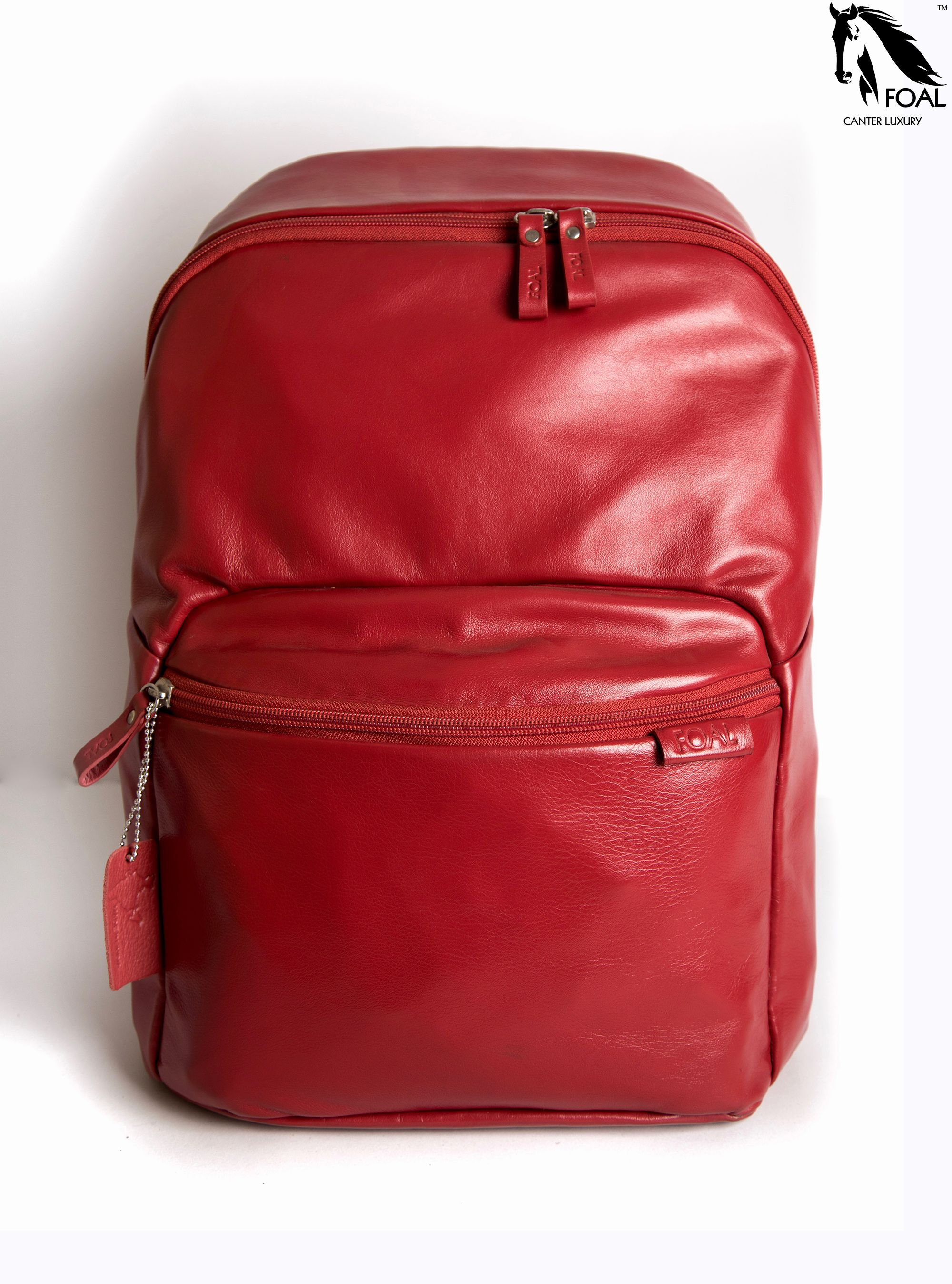 ee4d70d0c8 From college to tuition to an outdoor picnic spot. Name  Bestie Model no   UB1D Type  Unisex Backpack Leather  Napa Colour  Shiny Red ...