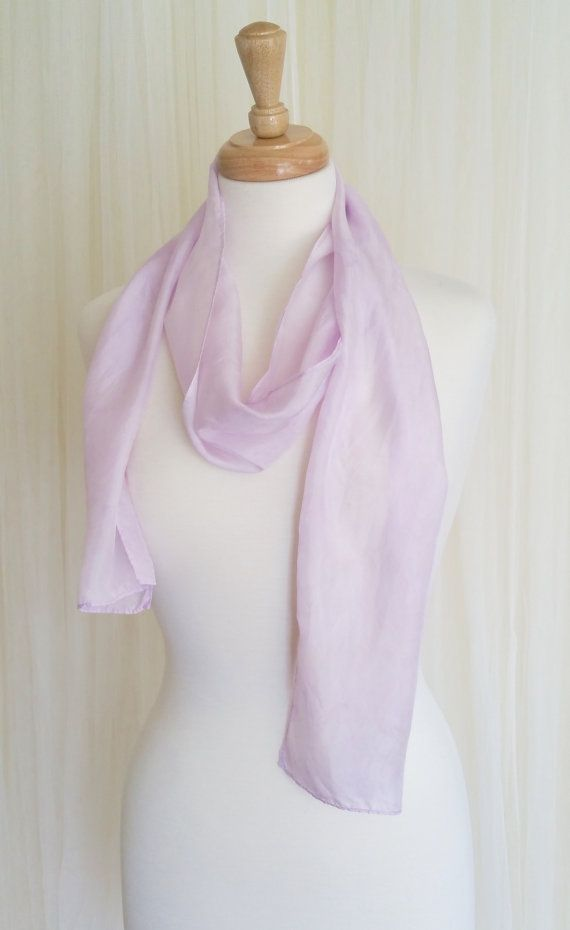 Hey, I found this really awesome Etsy listing at https://www.etsy.com/listing/235012275/hand-dyed-silk-scarf-summer-lavender