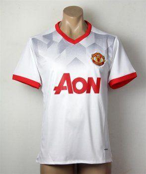 online retailer 6d22c 6b592 Manchester United 16-17 Season White Soccer Training Shirt ...