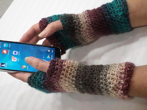 Crochet Fingerless Gloves Pattern Easy Beginner Pattern Pdf