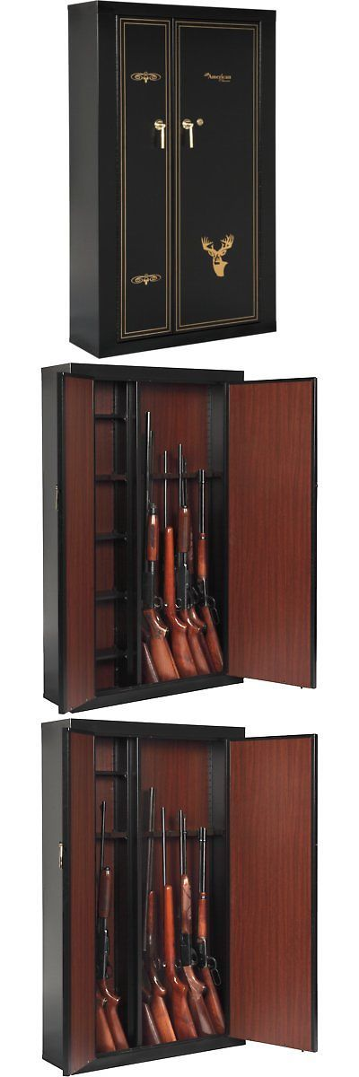 American Furniture Classics 916 Woodmark Series 16 Gun Cabinet With Storage  | Cabinets And Safes 177877 | Pinterest | Guns And Wood Grain