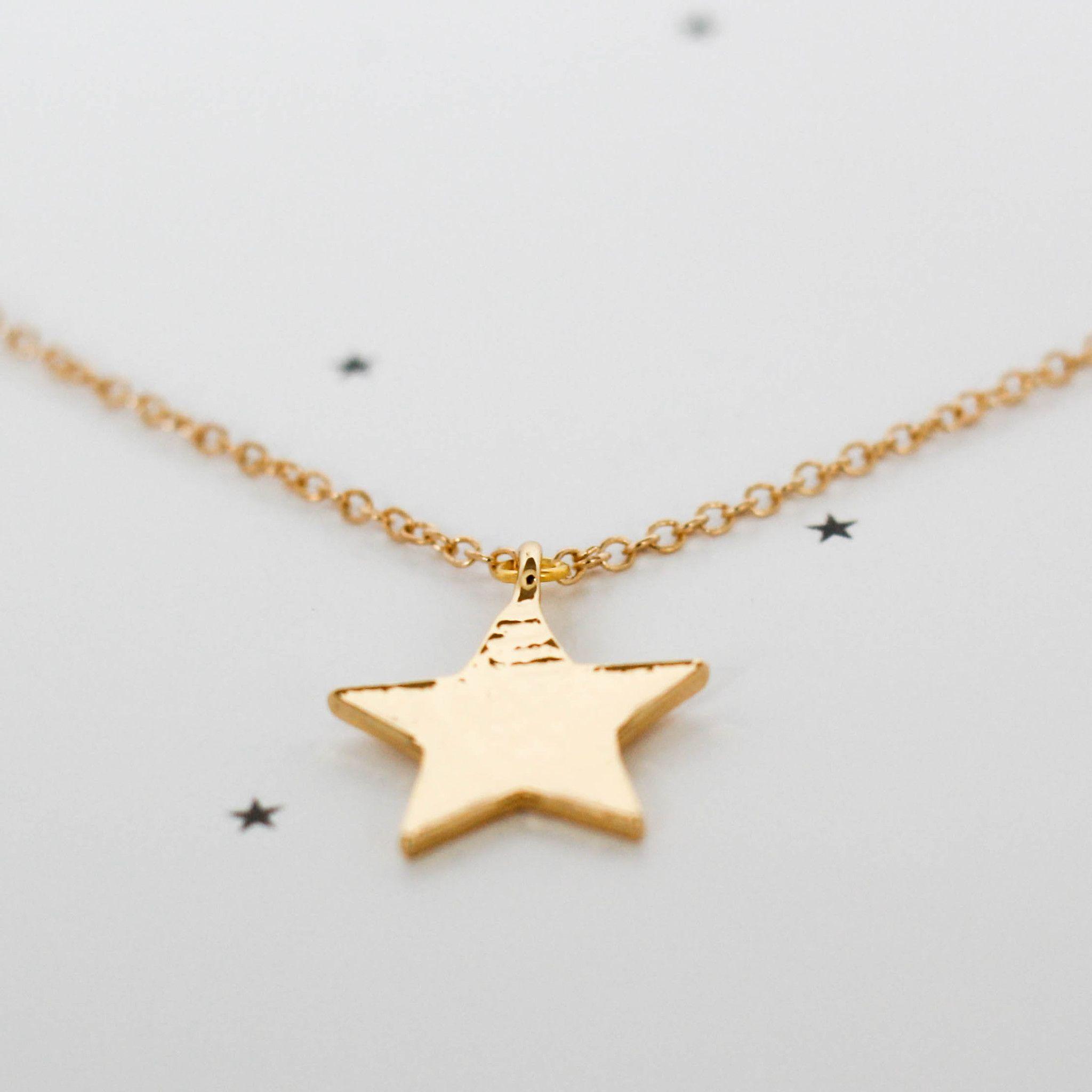 d43c0ab71a4a  collar  estrella  star  necklace  regalos  originales  niñas  infantil  oro   cadena  colgante  adolescente  bisuteria  dorado