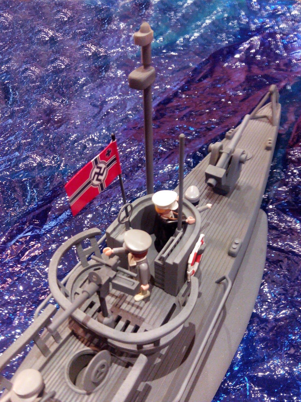 """Submarino Alemán U-Boat Tipo V"" TERMINADO"