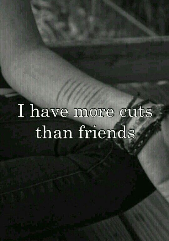 Sad Quotes About Cutting: Sadness, Mental
