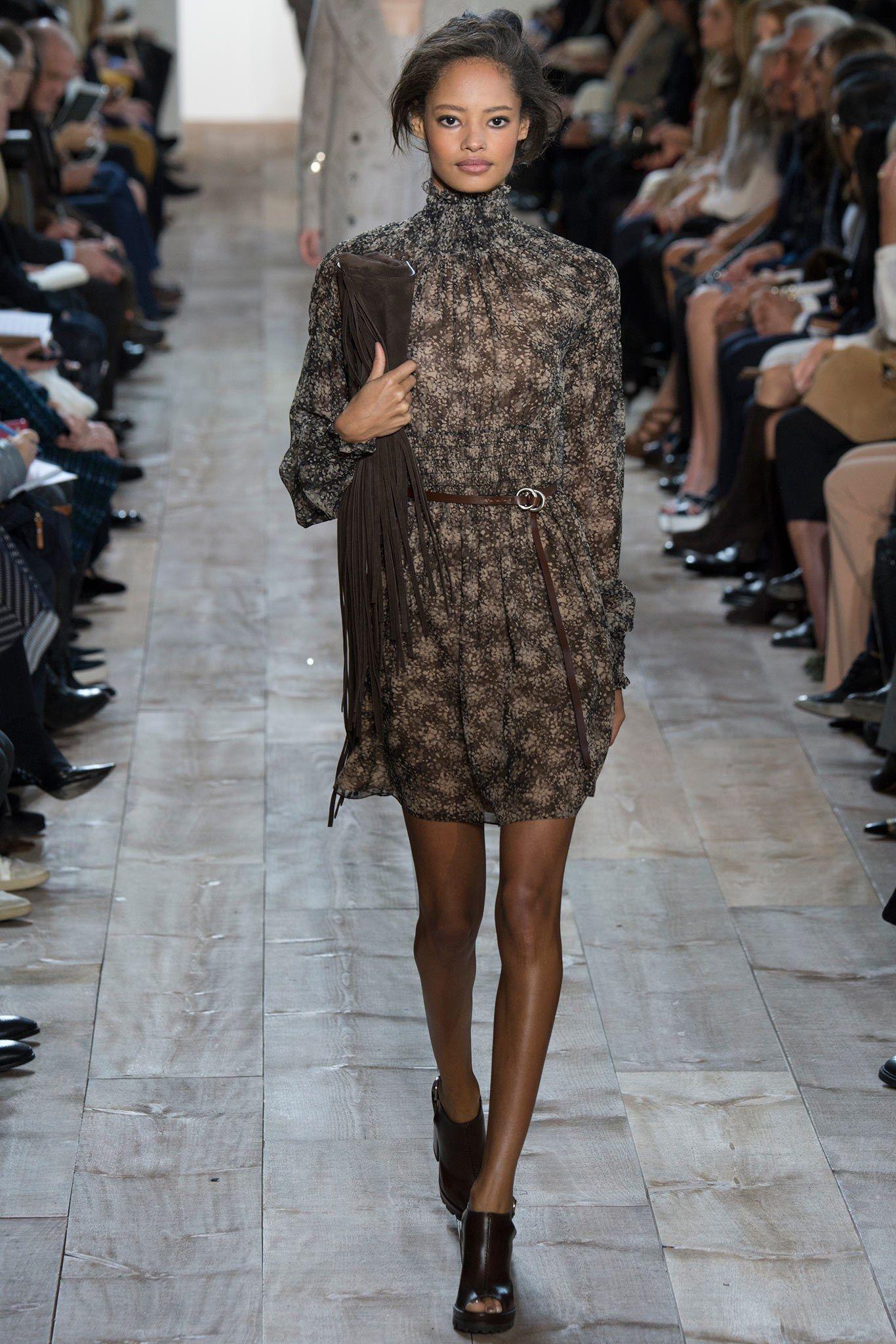 Michael Kors Collection Fall 2014 Ready-to-Wear Fashion Show - Malaika Firth