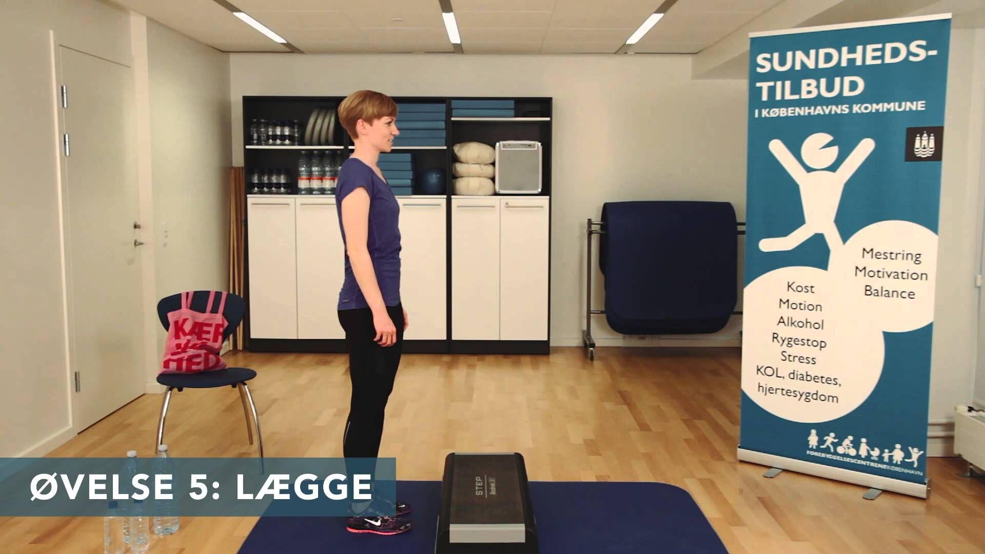 Hjemmetræning: 10 øvelser u. musik -Sundhedshusene i København