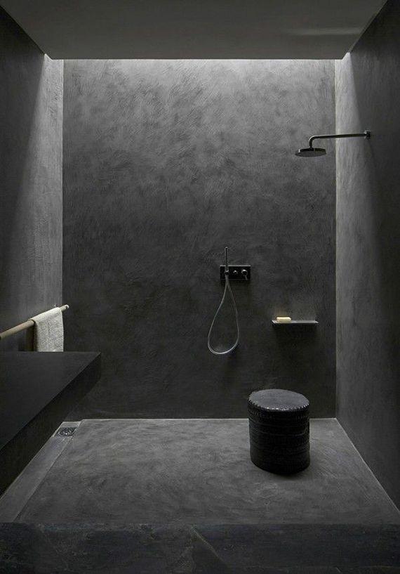 All Black Bathroom Villa E In Morocco By Studio Ko MY HOME Impressive Black Bathroom