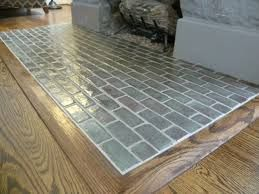 Gray Tiled Hearth Fireplace Hearth Fireplace Hearth Tiles Hearth Tiles