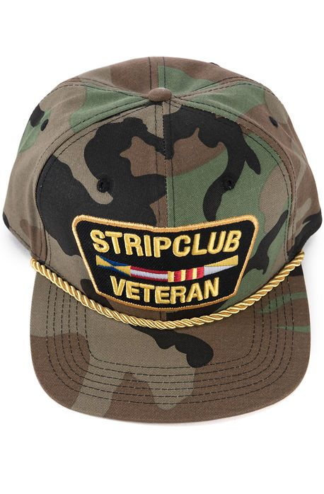 43b8dc98cbb The Strip Club Veteran Hat in Camo