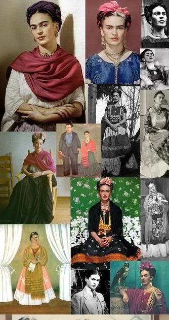 Fashion Inspiration: Frida Kahlo
