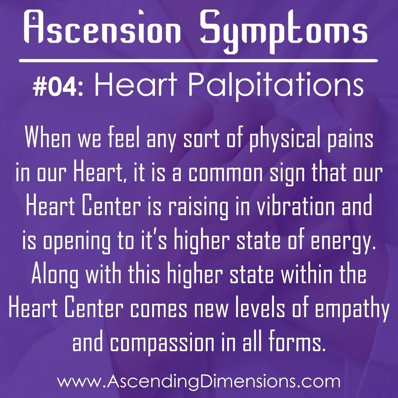 Ascension Symptom #04: Heart Palpitations
