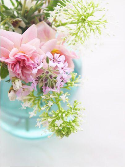 Vintage Bottles As Flower Vases Floral Fervor Pinterest