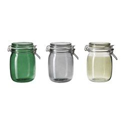 candles? // HEMSMAK Jar with lid - IKEA | make. | Pinterest