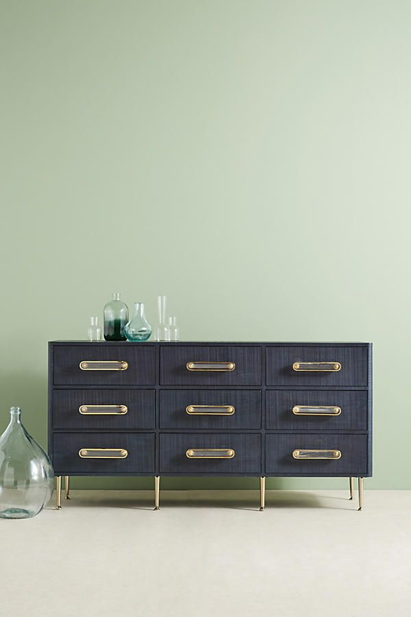 Odetta Nine Drawer Dresser Condo Pinterest Kommode Couch And Haus