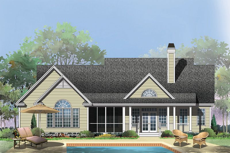 Ranch Style House Plan 3 Beds 2 5 Baths 1970 Sq Ft Plan 929 938 Ranch Style House Plans Craftsman Style House Plans House With Porch