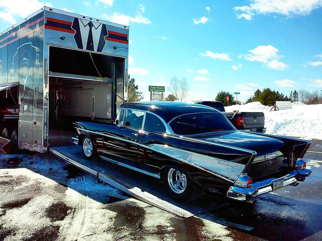 Classic 1957 Chevrolet BelAir ClassicCarShipping